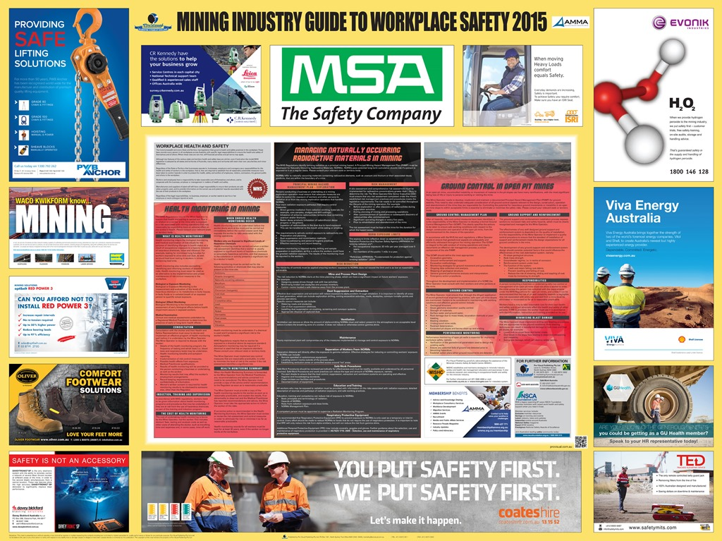 Mining industry guide to workplace safety 2015 released